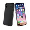 Чехол-накладка для Apple iPhone X (Muvit Carbon MUBKC0948) (черный) - Чехол для телефонаЧехлы для мобильных телефонов<br>Чехол плотно облегает корпус и гарантирует надежную защиту от царапин и потертостей.<br>