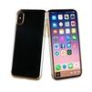 Чехол-накладка для Apple iPhone X (Muvit Crystal MUCRY0170) (золотистый) - Чехол для телефонаЧехлы для мобильных телефонов<br>Чехол плотно облегает корпус и гарантирует надежную защиту от царапин и потертостей.<br>