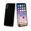 Чехол-накладка для Apple iPhone X (Muvit Crystal MUCRY0172) (серебристый) - Чехол для телефонаЧехлы для мобильных телефонов<br>Чехол плотно облегает корпус и гарантирует надежную защиту от царапин и потертостей.<br>