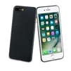 Чехол-накладка для Apple iPhone 7 Plus, 8 Plus (Muvit Carbon MUBKC0952) (черный) - Чехол для телефонаЧехлы для мобильных телефонов<br>Чехол плотно облегает корпус и гарантирует надежную защиту от царапин и потертостей.<br>