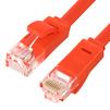 Патч-корд UTP кат. 6, RJ45 5м (Greenconnect GCR-LNC624-5.0m) (красный) - КабельСетевые аксессуары<br>Патч-корд, плоский, прямой, длина 5м, UTP, медь, кат.6, позолоченные контакты, 30 AWG, 10 Гбит/с, RJ45, T568B.<br>