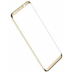 Защитное стекло для Samsung Galaxy S8 (Baseus 3D Arc Tempered Glass Film SGSAS8-3D0V) (золотистый)