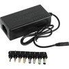 Универсальное зарядное устройство ORIENT PU-M70W (черный) - Сетевая, автомобильная зарядка для ноутбукаСетевые и автомобильные зарядки для ноутбуков<br>Универсальный адаптер питания для ноутбуков, 12-24 В, 70 Вт. Сменных коннекторов 8, переключение вручную, защита от короткого замыкания и перегрузки.<br>