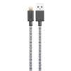 Дата-кабель USB-Lightning для Apple iPhone, iPad, iPod touch (Native Union Belt Cable XL BELT-L-ZEB-3) (зебра) - Usb, hdmi кабельUSB-, HDMI-кабели, переходники<br>Кабель с разъемами USB-Lightning, длина 3 м. Позволяет заряжать и синхронизировать устройство с ПК.<br>