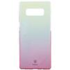 Чехол-накладка для Samsung Galaxy Note 8 (Baseus Glaze Case WISANOTE8-GC04) (розовый) - Чехол для телефонаЧехлы для мобильных телефонов<br>Предназначен для надежной защиты Вашего смартфона от загрязнений и механических повреждений, оставляет свободный доступ ко всем разъемам устройства.<br>