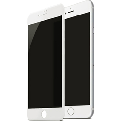 Защитное стекло для Apple iPhone 8 Plus (Baseus Soft edge Anti-peeping SGAPIPH8P-TG02) (белый)