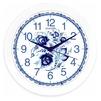 Energy ЕС-102 (белый, голубой) - Настенные часыНастенные часы<br>Часы настенные кварцевые, размер - D275 мм, материал - пластик.<br>