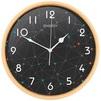Energy ЕС-107 (черный) - Настенные часыНастенные часы<br>Часы настенные кварцевые, материал - пластик, питание от 1 батарейки типа АА.<br>