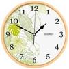 Energy ЕС-108 (бежевый) - Настенные часыНастенные часы<br>Часы настенные кварцевые, материал - пластик, питание от 1 батарейки типа АА, диаметр - 32 см.<br>
