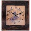 Energy ЕС-20 (коричневый) - Настенные часыНастенные часы<br>Часы настенные кварцевые, материал - пластик, питание от 1 батарейки типа АА.<br>
