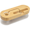 Подставка-держатель для смартфонов, Apple Watch (Seenda Multifunction Bamboo Wooden Stand Holder IPS-Z32) (светло-коричневый) - Подставка, держатель для мобильного телефона, планшета, умных часовПодставки, держатели для мобильных телефонов, планшетов, умных часов<br>Seenda Multifunction Bamboo Wooden Stand Holder представляет собой удобную подставку-держатель. Изготовлена из алюминия и дерева, установка сразу двух девайсов, специальные вырезы под зарядки, прорезиненное основание.<br>