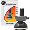 Держатель Phantom PH5252 черный (148168) - Автомобильный держатель для телефонаАвтомобильные держатели для мобильных телефонов<br>Тип Держатель, Тип крепления держателя на решетку вентиляции, Цвет черный, Магнитный держатель ДА, Вес (кг) 0.16, Объем (м3) 0.00233<br>