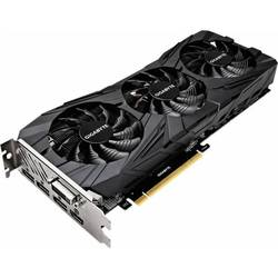 GIGABYTE GeForce GTX 1080 Ti 1544Mhz PCI-E 3.0 11264Mb 11010Mhz 352 bit DVI HDMI HDCP Gaming OC Black RTL