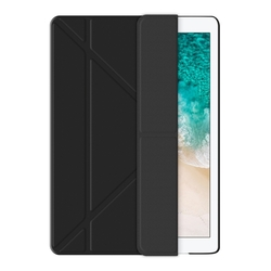 Чехол-книжка для Apple iPad 9.7 2017 (Deppa Wallet Onzo 88045) (черный)