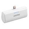 Внешний аккумулятор для Apple iPhone 5, 5C, 5S, SE, 6, 6 plus, 6S, 6S Plus, 7, 7 Plus, 8, 8 Plus, iPad 4, Air, Air 2, Pro 9.7, Pro 12.9, PRO, mini 1, mini 2, mini 3, mini 4 (SmartBuy TURBO-8 SBPB-110) (белый)  - Внешний аккумуляторУниверсальные внешние аккумуляторы<br>Портативное зарядное устройство, емкость 2200мАч, разъем Apple Lightning 8pin, выходной ток: 2.1А, защита: от избыточного заряда/саморазряда/короткого замыкания/превышения напряжения/по току, LED-индикация.<br>