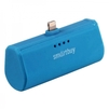 Внешний аккумулятор для Apple iPhone 5, 5C, 5S, SE, 6, 6 plus, 6S, 6S Plus, 7, 7 Plus, 8, 8 Plus, iPad 4, Air, Air 2, Pro 9.7, Pro 12.9, PRO, mini 1, mini 2, mini 3, mini 4 (SmartBuy TURBO-8 SBPB-140) (синий) - Внешний аккумуляторУниверсальные внешние аккумуляторы<br>Портативное зарядное устройство, емкость 2200мАч, разъем Apple Lightning 8pin, выходной ток: 2.1А, защита: от избыточного заряда/саморазряда/короткого замыкания/превышения напряжения/по току, LED-индикация.<br>