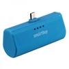 SmartBuy TURBO (SBPB-240) (синий) - Внешний аккумуляторУниверсальные внешние аккумуляторы<br>Портативное зарядное устройство, емкость 2200мАч, разъем microUSB, выходной ток: 2.1А, защита: от избыточного заряда/саморазряда/короткого замыкания/превышения напряжения/по току, LED-индикация.<br>