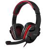 Sven AP-G855MV (черно-красный) - Компьютерная гарнитураКомпьютерные гарнитуры<br>Игровые наушники с микрофоном, частотный диапазон наушников: 20-20000Гц, чувствительность наушников 105дБ, подключение 2хminijack 3.5мм.<br>
