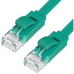 Патч-корд UTP кат. 6, RJ45 20м (Greenconnect GCR-LNC625-20.0m) (зеленый)