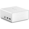 Док-станция для Apple Mас (Satechi Aluminum Mini Docking Station B01CDJL0MM) (серебристый) - Док-станция, порт-репликатор для ноутбукаДок-станции, порты-репликаторы для ноутбуков<br>Универсальная многофункциональная док-станция, которая создана для владельцев устройств Mac. Она позволяет восполнить нехватку разъемов и портов для подключения дополнительных периферийных устройств.<br>