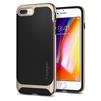 Чехол-накладка для Apple iPhone 7 Plus, 8 Plus (Spigen Hybrid Herringbone 055CS22231) (шампань) - Чехол для телефонаЧехлы для мобильных телефонов<br>Обеспечит защиту телефона от царапин, потертостей и других нежелательных внешних воздействий.<br>