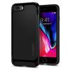 Чехол-накладка для Apple iPhone 7 Plus, 8 Plus (Spigen Neo Hybrid Herringbone 055CS22230) (черный) - Чехол для телефонаЧехлы для мобильных телефонов<br>Обеспечит защиту телефона от царапин, потертостей и других нежелательных внешних воздействий.<br>