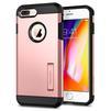 Чехол-накладка для Apple iPhone 7 Plus, 8 Plus (Spigen Tough Armor 2 055CS22245) (розовое золото) - Чехол для телефонаЧехлы для мобильных телефонов<br>Защитит смартфон от грязи, пыли, брызг и других внешних воздействий.<br>