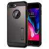 Чехол-накладка для Apple iPhone 7 Plus, 8 Plus (Spigen Tough Armor 2 055CS22244) (стальной) - Чехол для телефонаЧехлы для мобильных телефонов<br>Защитит смартфон от грязи, пыли, брызг и других внешних воздействий.<br>