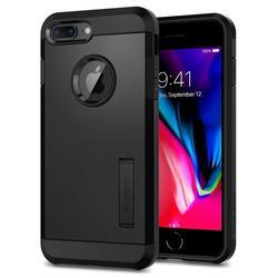 Чехол-накладка для Apple iPhone 7 Plus, 8 Plus (Spigen Tough Armor 2 055CS22246) (черный)