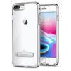 Чехол-накладка для Apple iPhone 7 Plus, 8 Plus (Spigen Ultra Hybrid S 055CS22243) (кристально-прозрачный) - Чехол для телефонаЧехлы для мобильных телефонов<br>Обеспечит защиту устройства от ударов и падений.<br>