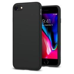 Чехол-накладка для Apple iPhone 7, 8 (Spigen Liquid Crystal 054CS22204) (матово черный)
