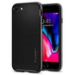 Чехол-накладка для Apple iPhone 7, 8 (Spigen Neo Hybrid 2 054CS22358) (стальной)