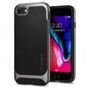 Чехол-накладка для Apple iPhone 7, 8 (Spigen Neo Hybrid Herringbone 054CS22197) (стальной) - Чехол для телефонаЧехлы для мобильных телефонов<br>Обеспечит защиту телефона от царапин, потертостей и других нежелательных внешних воздействий.<br>