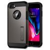 Чехол-накладка для Apple iPhone 7, 8 (Spigen Tough Armor 2 054CS22214) (стальной) - Чехол для телефонаЧехлы для мобильных телефонов<br>Защитит смартфон от грязи, пыли, брызг и других внешних воздействий.<br>