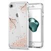 Чехол-накладка для Apple iPhone 7, 8 (Spigen Crystal Shell Blossom 042CS21536) (кристально-прозрачный) - Чехол для телефонаЧехлы для мобильных телефонов<br>Обеспечит защиту устройства от ударов и падений.<br>