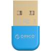 Bluetooth адаптер ORICO BTA-403 (голубой)  - WiFi роутерWiFi роутер<br>ORICO BTA-403 - Bluetooth адаптер, USB 2.0, Bluetooth 4.0, макс. скорость беспроводного соединения 3 Мбит/с.<br>