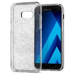 Чехол-накладка для Samsung Galaxy A3 (2017) (Spigen Liquid Crystal Glitter 572CS21449) (кристальный кварц)