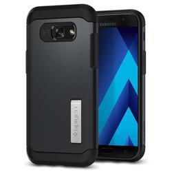 Чехол-накладка для Samsung Galaxy A5 (2017) (Spigen Slim Armor 573CS21359) (металлический)