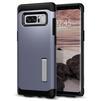 Чехол-накладка для Samsung Galaxy Note 8 (Spigen Slim Armor 587CS21836) (серая орхидея) - Чехол для телефонаЧехлы для мобильных телефонов<br>Защитит смартфон от грязи, пыли, брызг и других внешних воздействий.<br>