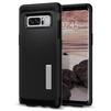 Чехол-накладка для Samsung Galaxy Note 8 (Spigen Slim Armor 587CS21835) (черный) - Чехол для телефонаЧехлы для мобильных телефонов<br>Защитит смартфон от грязи, пыли, брызг и других внешних воздействий.<br>