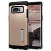 Чехол-накладка для Samsung Galaxy Note 8 (Spigen Slim Armor 587CS21837) (шампань) - Чехол для телефонаЧехлы для мобильных телефонов<br>Защитит смартфон от грязи, пыли, брызг и других внешних воздействий.<br>