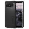 Чехол-накладка для Samsung Galaxy Note 8 (Spigen Tough Armor 587CS22079) (черный) - Чехол для телефонаЧехлы для мобильных телефонов<br>Защитит смартфон от грязи, пыли, брызг и других внешних воздействий.<br>