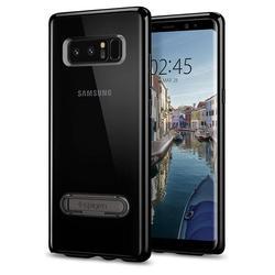 Чехол-накладка для Samsung Galaxy Note 8 (Spigen Ultra Hybrid S 587CS22069) (ультра-черный)