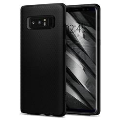 Чехол-накладка для Samsung Galaxy Note 8 (Spigen Liquid Air Armor 587CS22060) (матово-черный)
