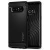 Чехол-накладка для Samsung Galaxy Note 8 (Spigen Rugged Armor 587CS22061) (матово-черный) - Чехол для телефонаЧехлы для мобильных телефонов<br>Защитит смартфон от грязи, пыли, брызг и других внешних воздействий.<br>