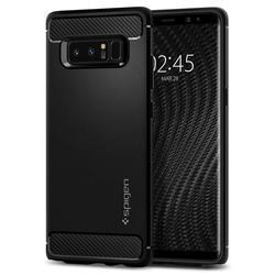 Чехол-накладка для Samsung Galaxy Note 8 (Spigen Rugged Armor 587CS22061) (матово-черный)