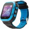 Кнопка жизни Aimoto Start (черно-голубой) - Умные часы, браслетУмные часы и браслеты<br>Кнопка жизни Aimoto Start - умные часы, влагозащищенные, сенсорный ЖК-экран 1.44, встроенный телефон, совместимость с Android, iOS.<br>