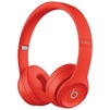 Beats Solo3 Wireless (красный) - НаушникиНаушники<br>Bats Solo3 Wireless - Bluetooth-наушники с микрофоном, накладные, оголовье, складные, поддержка iPhone, разъем mini jack 3.5 mm, время работы 40 ч.<br>