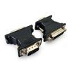 Переходник VGA15M-DVI 25F (Cablexpert A-VGAM-DVIF-01) (черный) - Кабель, переходникКабели, шлейфы<br>Переходник с разъемами VGA15M-DVI 25F, материал: пластик.<br>