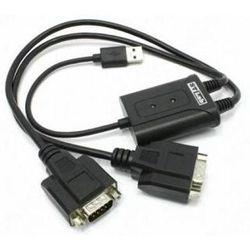 Переходник USB- 2xCOM 9pin (ST-Lab U-700) (черный)